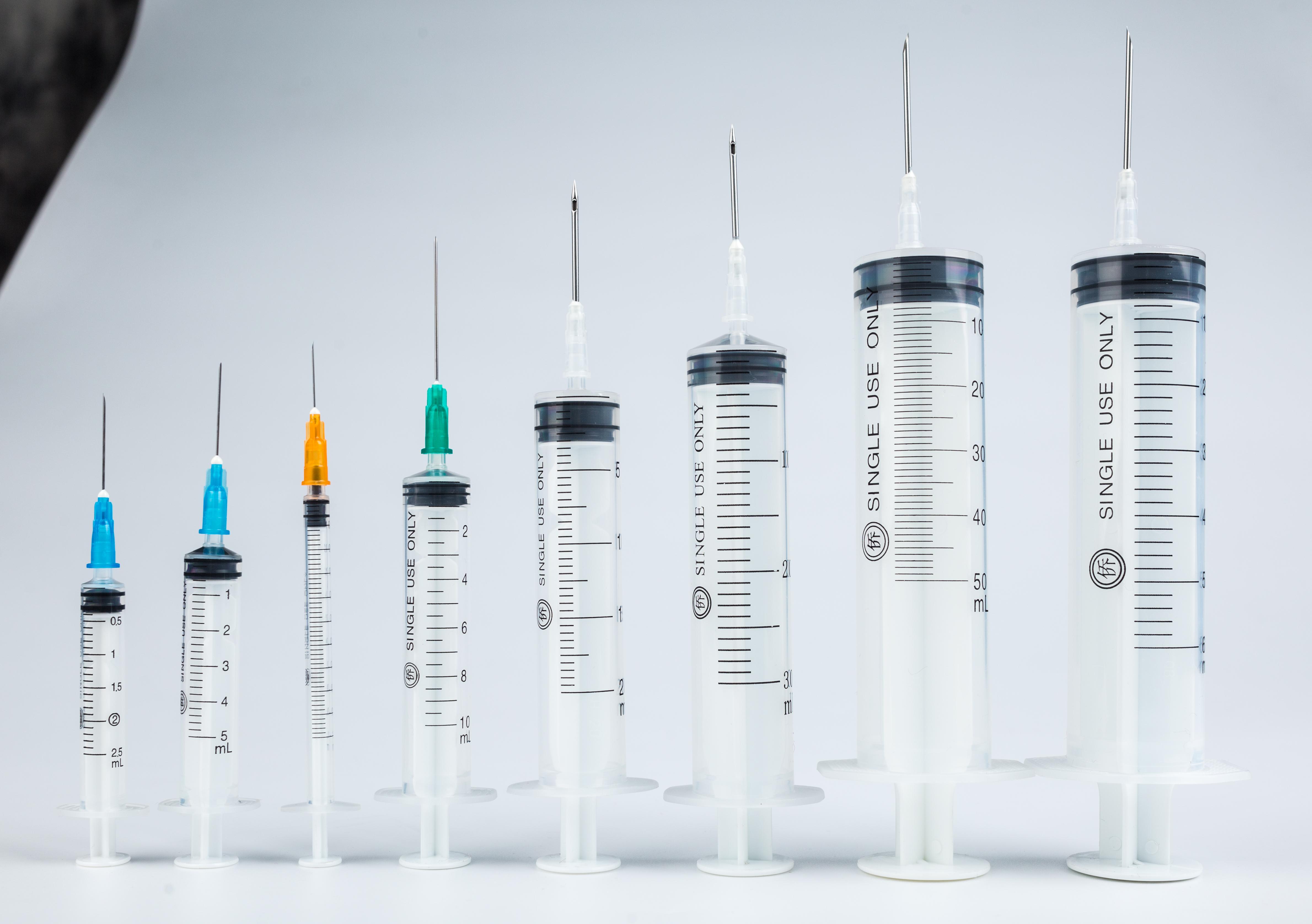 一次性使用无菌注射器